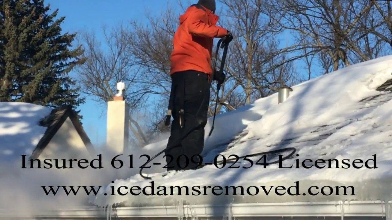 Steam Ice Dam Removal Service Ice Dams Ice Dam Removal Removal Services