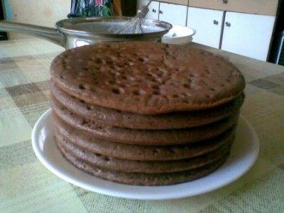 коржи для торта на сковороде рецепт с фото