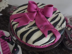 Bolo zebrinha 3