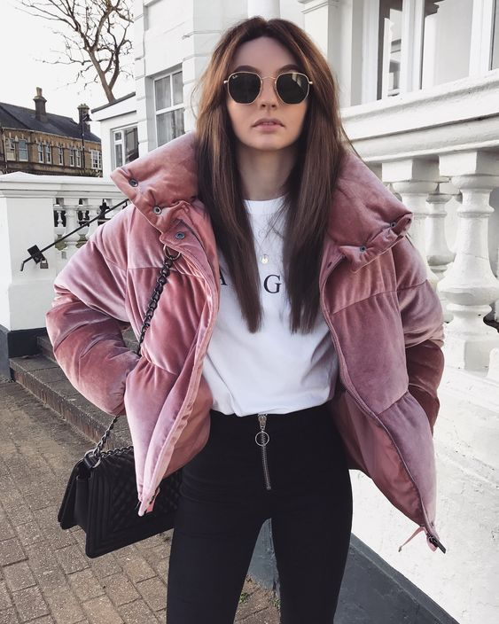 Ladies jacket winter for the most beautiful combinations Women's fashion