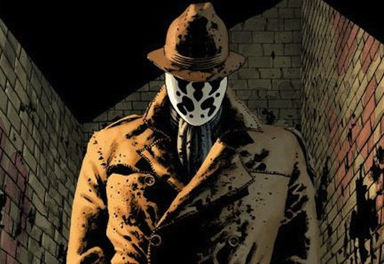 Image result for rorschach watchmen comic