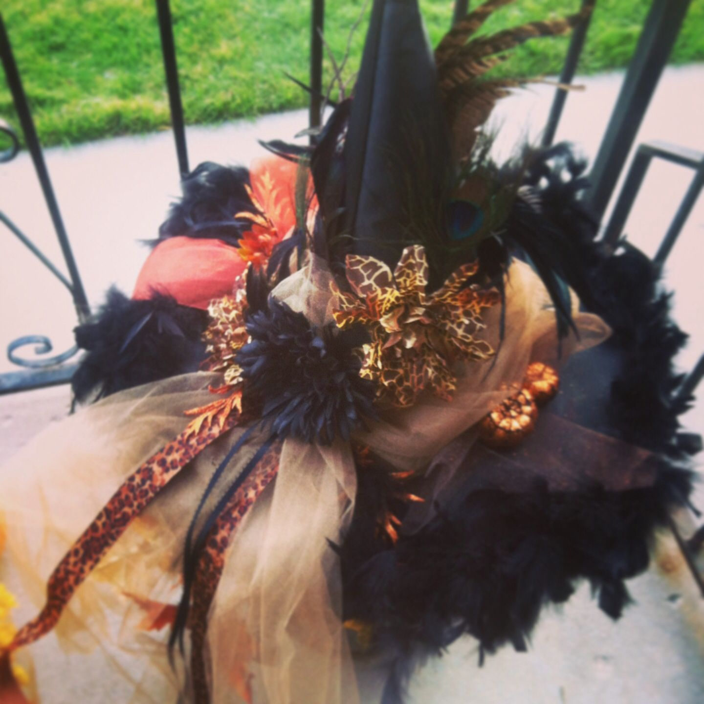 Miss Lolita Leopard Witch Hat | ***Witch Hat*** | Pinterest | Witches