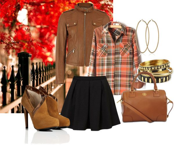 Fall Style - dressing for all seasons in a little black skirt