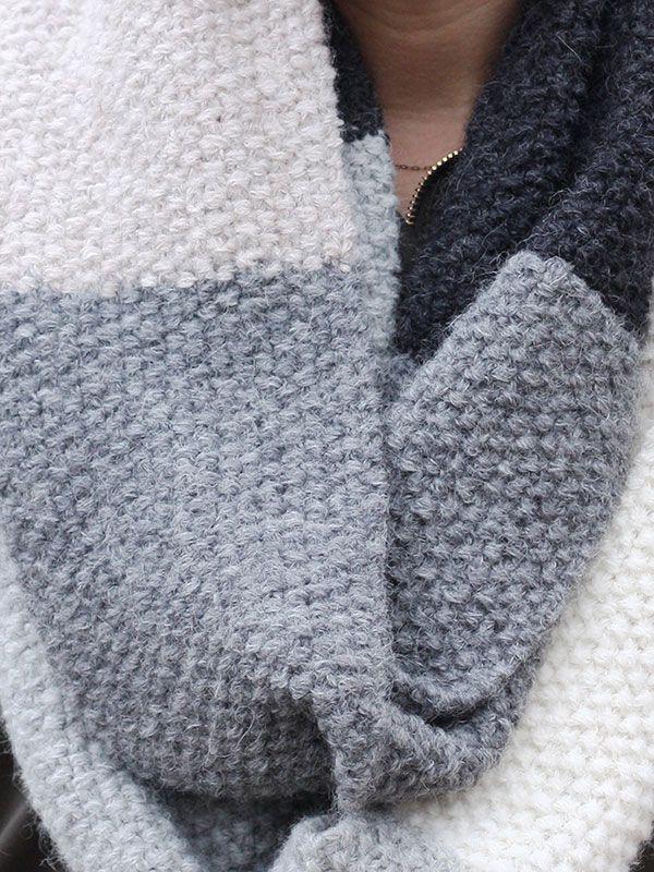 Mille Cowl Free Knitting Pattern   Tejido