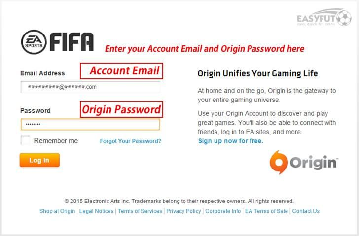 3 Use Your Account Email And Origin Password To Login To Origin