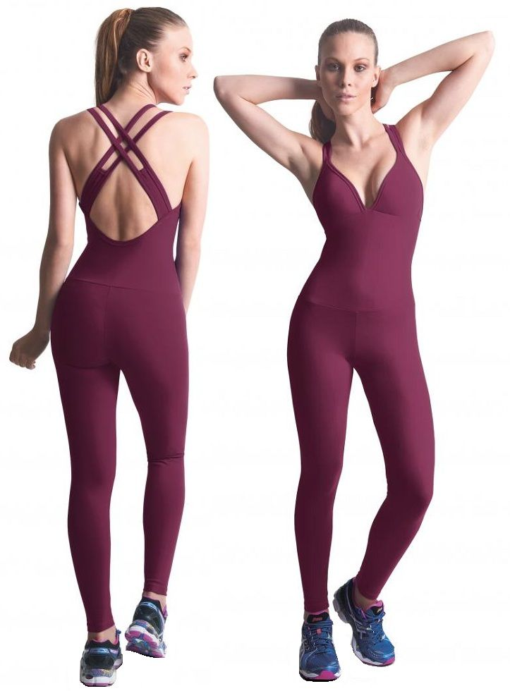 6e38ec4c543 Bia Brazil LBL2917 Bodysuit Women Activewear Workout Wear