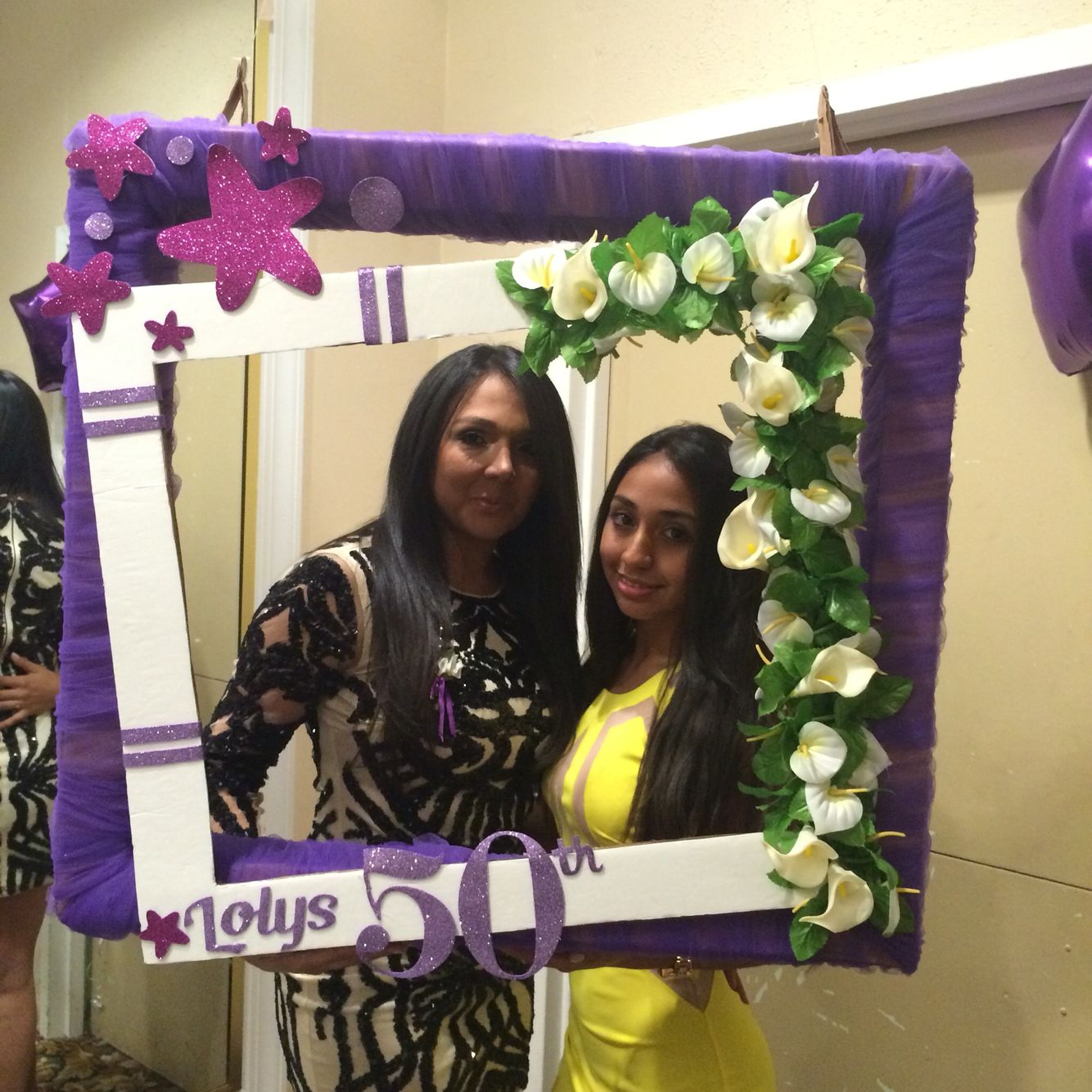 Marco para fotos / Photo Booth/ Fiesta 50 años por #ViCani_Design ...