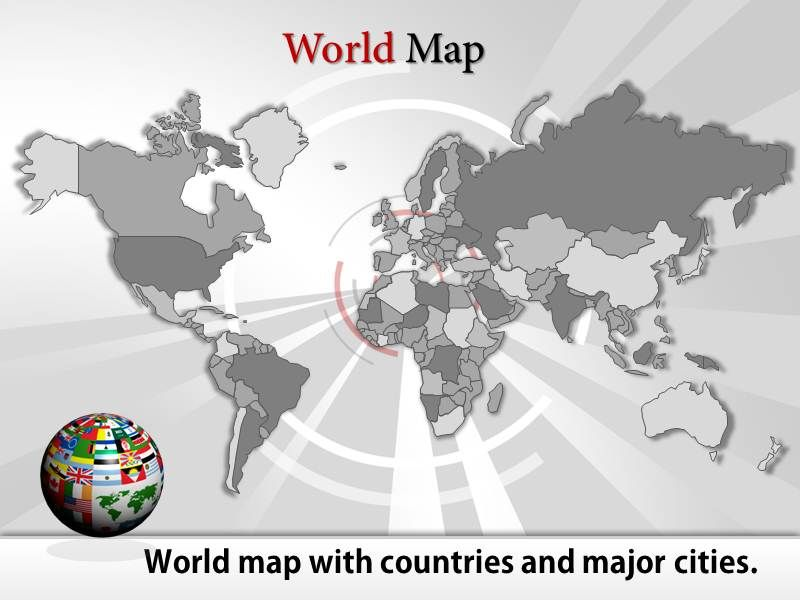 ppt maps templates for presentations 100 editable map templates