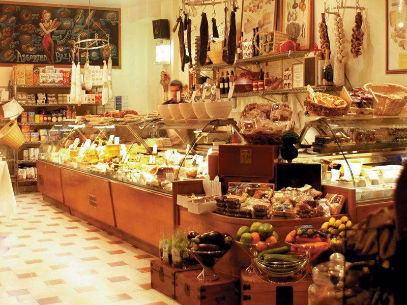 lovely full deli | CAFE | Pinterest | Deli, Rustic restaurant and ...