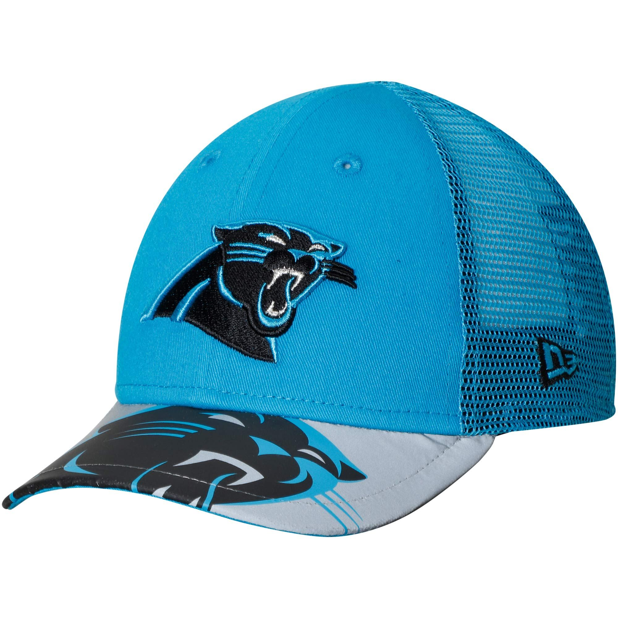 e9a1d23049f New Era Carolina Panthers Toddler Blue Gray Mega Flect 9FORTY Snapback  Adjustable Hat