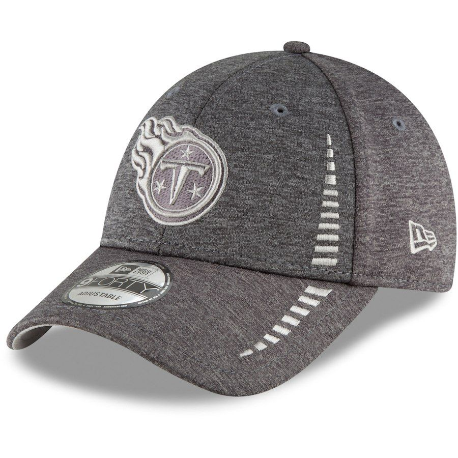 online store 17c20 1e1d1 Men s Tennessee Titans New Era Graphite Speed Shadow Tech 9FORTY Adjustable  Hat, Your Price   23.99
