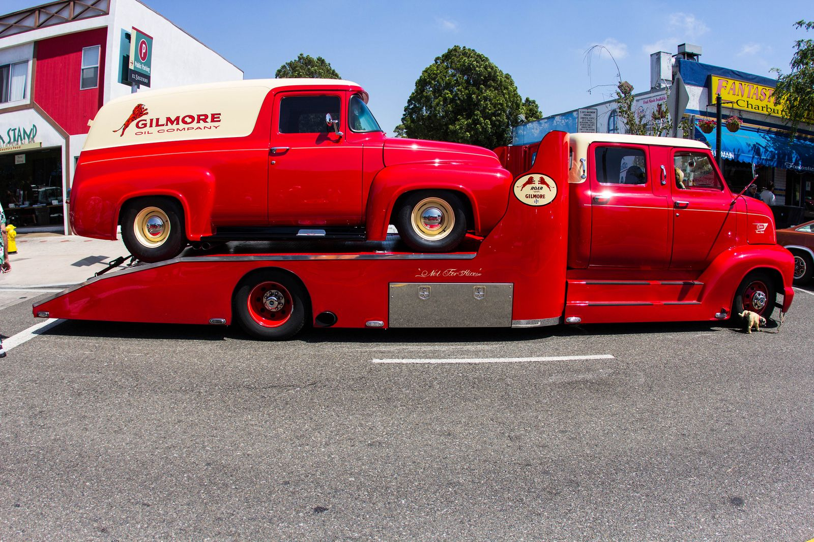 1953 Ford Cab Over Engine Coe Crew Hauler With 1956 F 100 1949 Panel Truck Van Flickr Photo Sharing