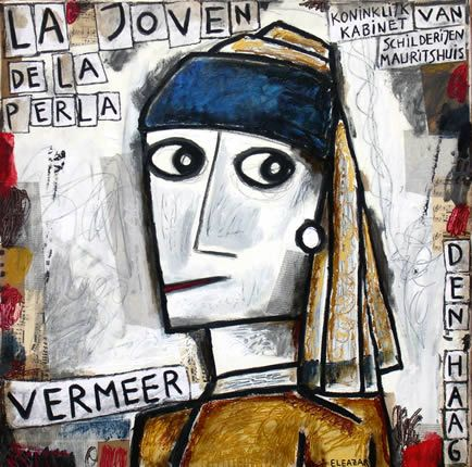 Pin by Alfredo Locatelli on Collège - AP cours | Famous art, Art parody,  Girl with pearl earring