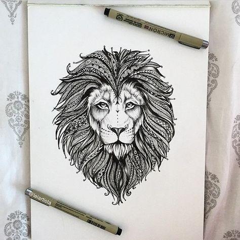Львы | 125 фотографий