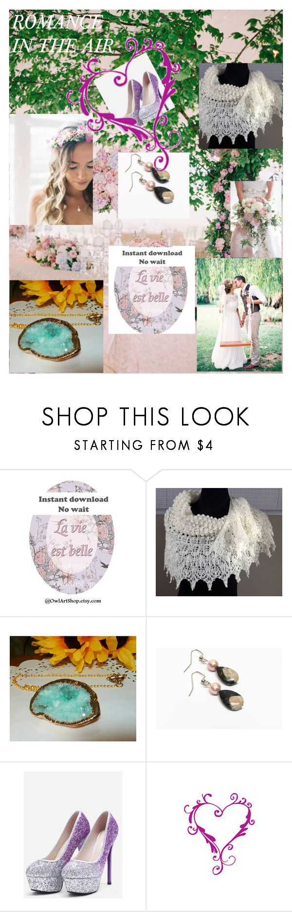 """""""ROMANCE IN THE AIR"""" by christine-bygrave ❤ liked on Polyvore featuring epiconetsy, EtsyTeamUnity and etsyevolution"""