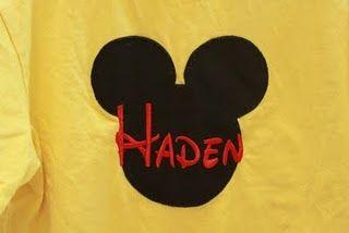 ...Disney shirts