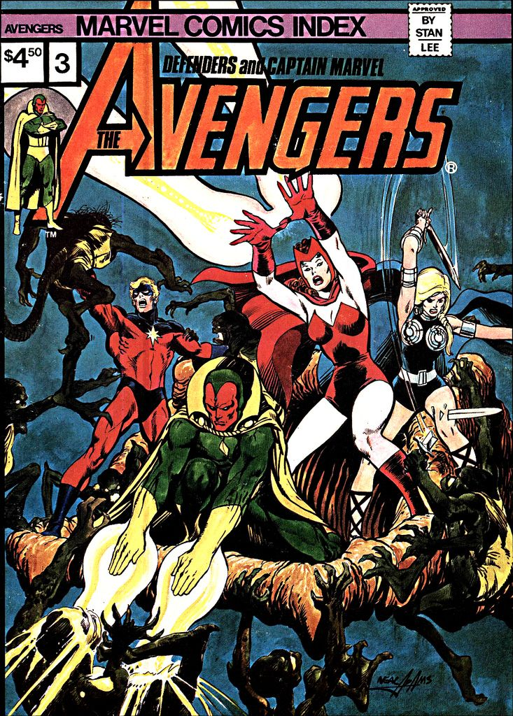 Neal Adams Cover To Avengers