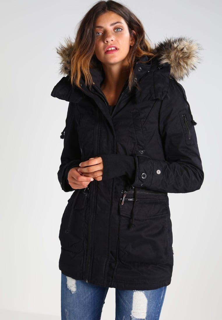 Khujo CHEVRIL Veste d'hiver black - Veste d'hiver Femme Zalando - Iziva.com