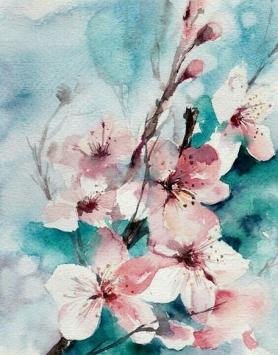 Flowers Tumblr Acuarela Floral Pintura Floral Flores Acuarela