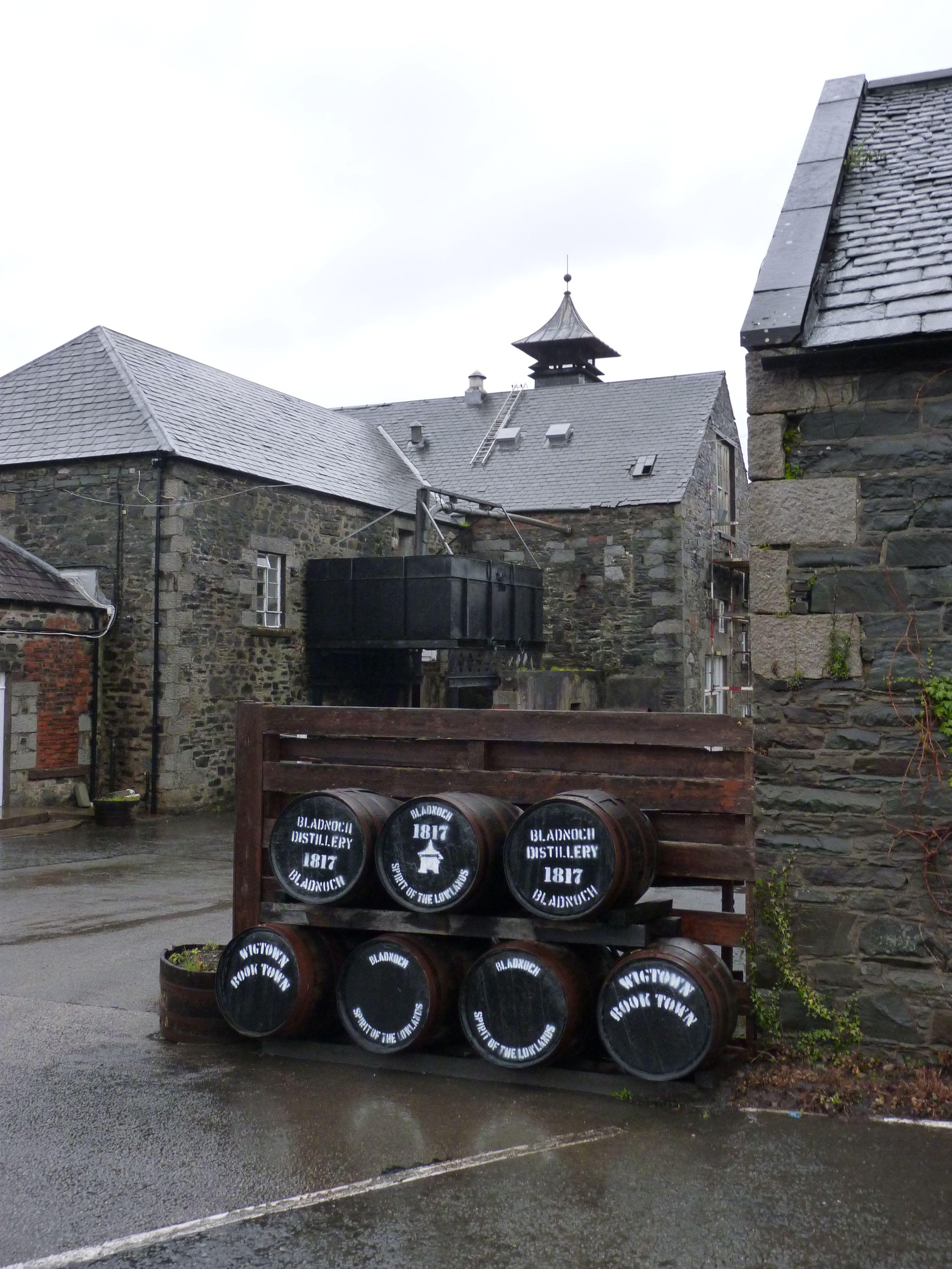 Bladnoch Distillery ( explore your biking wanderlust on www.motorcyclescotland.com )