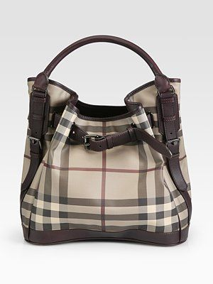 Burberry Medium Smoked Check Hobo ~ I saw it at Nordstroms yesterday and I  love it! 84945aa5df
