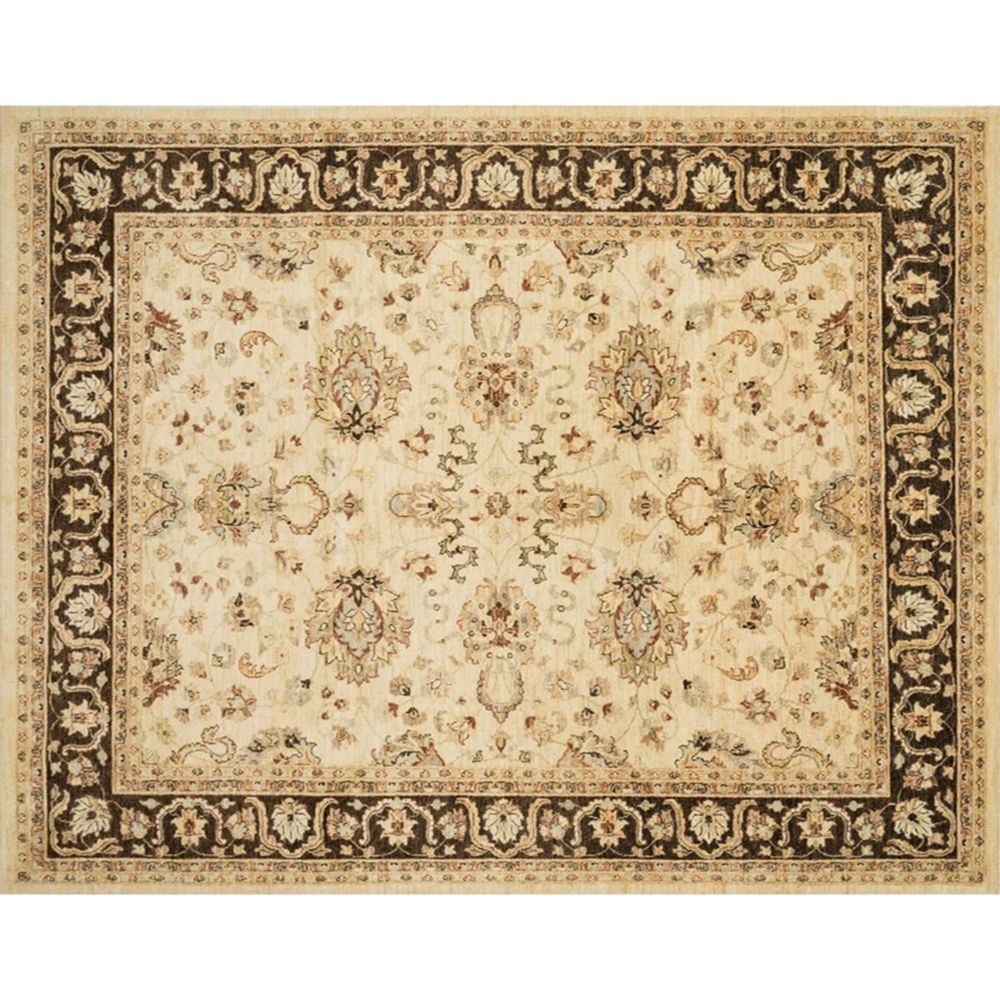 Loloi Rugs Majemm 12 800r Majestic 8 Round Wool Hand Knotted Traditional Area R Grey Ivory Rugs Area Rugs Loloi Rugs Ivory Rug Area Rugs