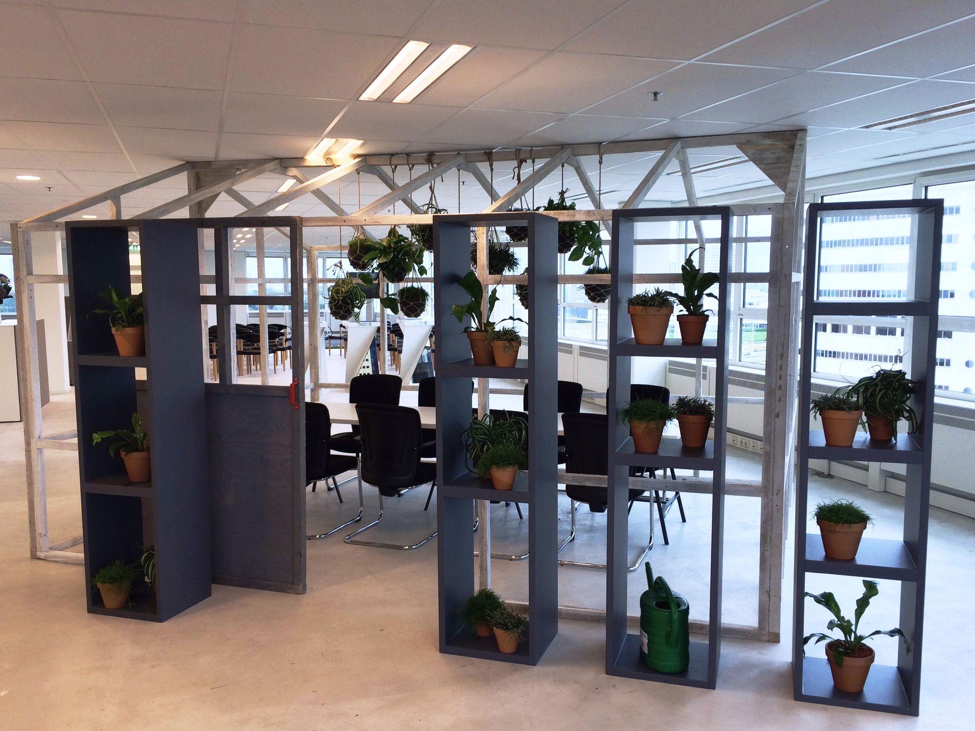 Interior Landscaping @ Rivium Rotterdam. Groene vergaderruimte.
