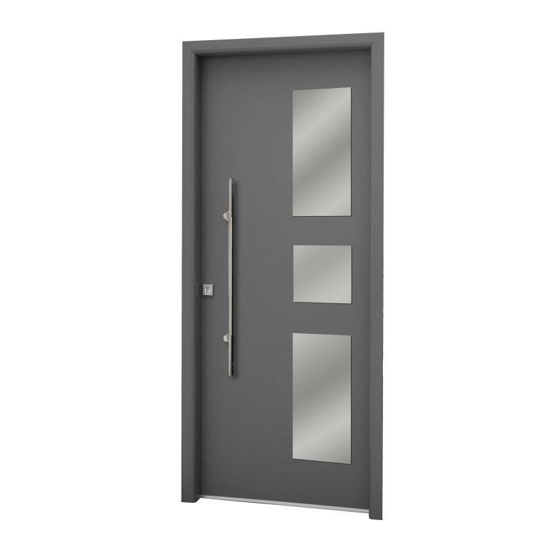Puertas de aluminio entrada principal puerta de aluminio for Puerta entrada aluminio