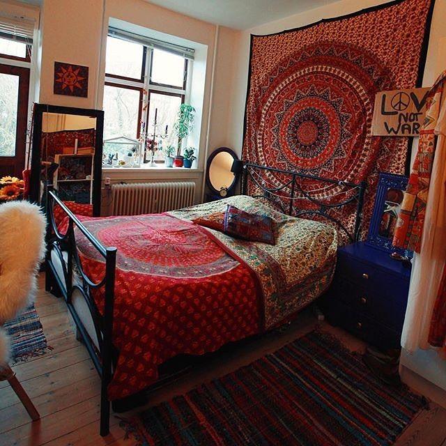 Hippie Tapetry | Hippie room decor, Hippy room, Boho room ...