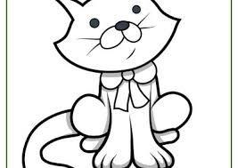 Resultado De Imagen Para Gatitos Tiernos Para Colorear Tareas