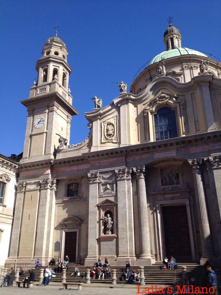 Piazza Sant'Alessandro #Milano #bellaMilano