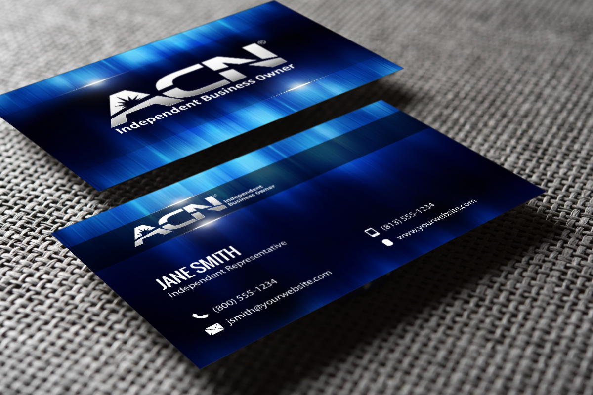 New Cards Are Ready For Acn Business Owners Mlm Acn Print Paper Graphicdesign Businesscards C Free Business Cards Printing Business Cards Self Branding
