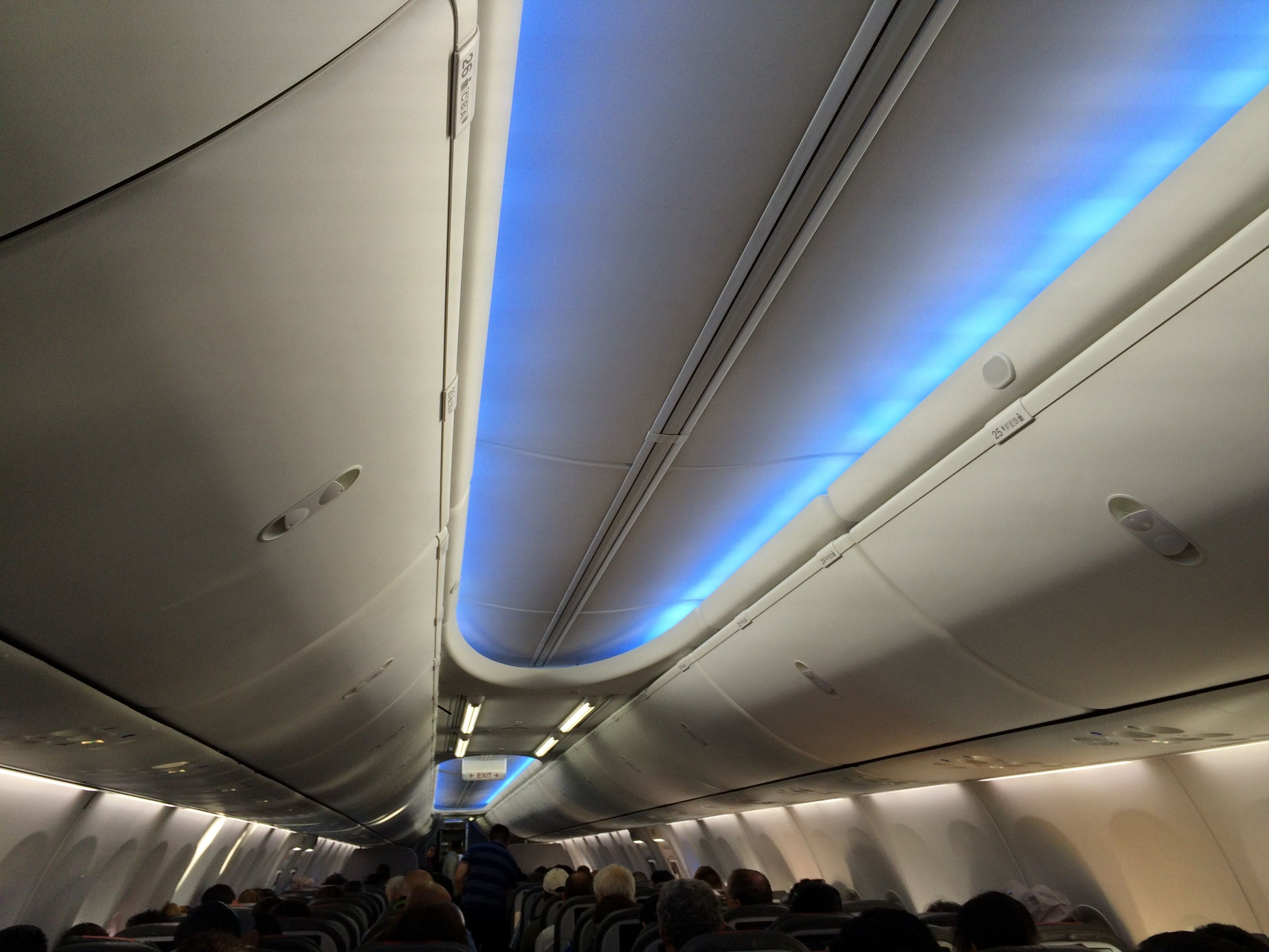 American Airlines Boeing 737 - Boeing Sky Interior. LatinFlyer.com ...