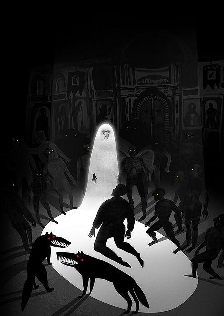 In Church Scene Horror Fiction Horror Icons Dark Romantic