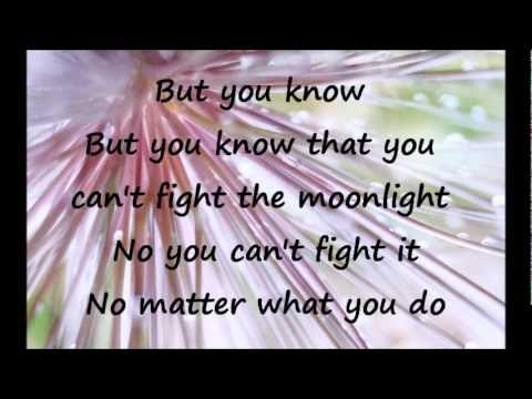 Leann Rimes Can T Fight The Moonlight Lyrics Wmv Youtube Lyrics Happy Song Emotions