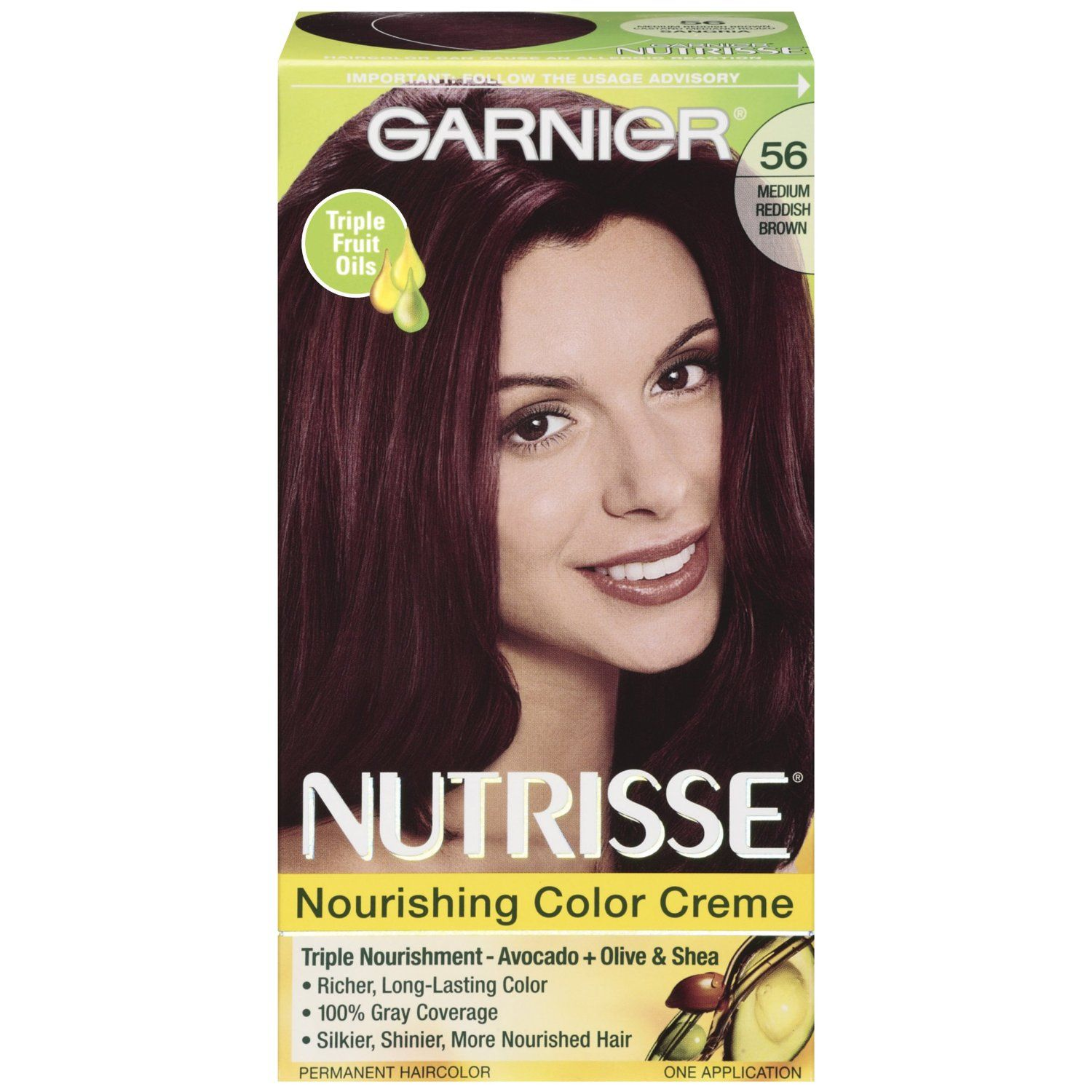 Amazon garnier nutrisse haircolor 56 medium reddish brown garnier nutrisse haircolor 42 deep burgundy black cherryrich healthy looking color experience garnier nutrisse a nourishing color treatment that gives nvjuhfo Image collections