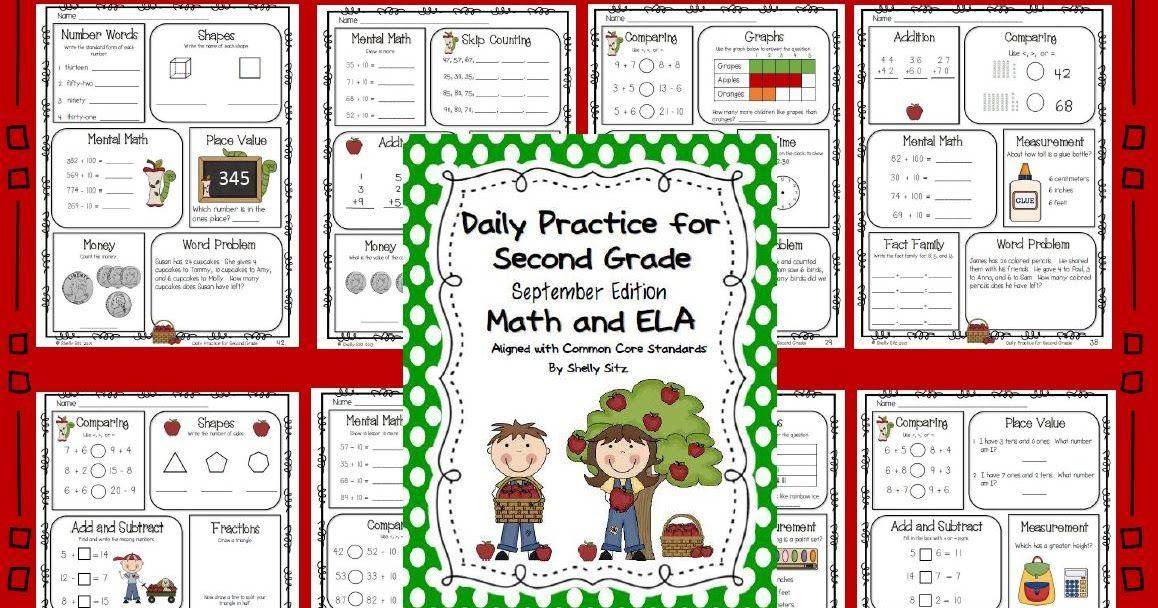 A second grade teaching blog with free math worksheets, grammar ...