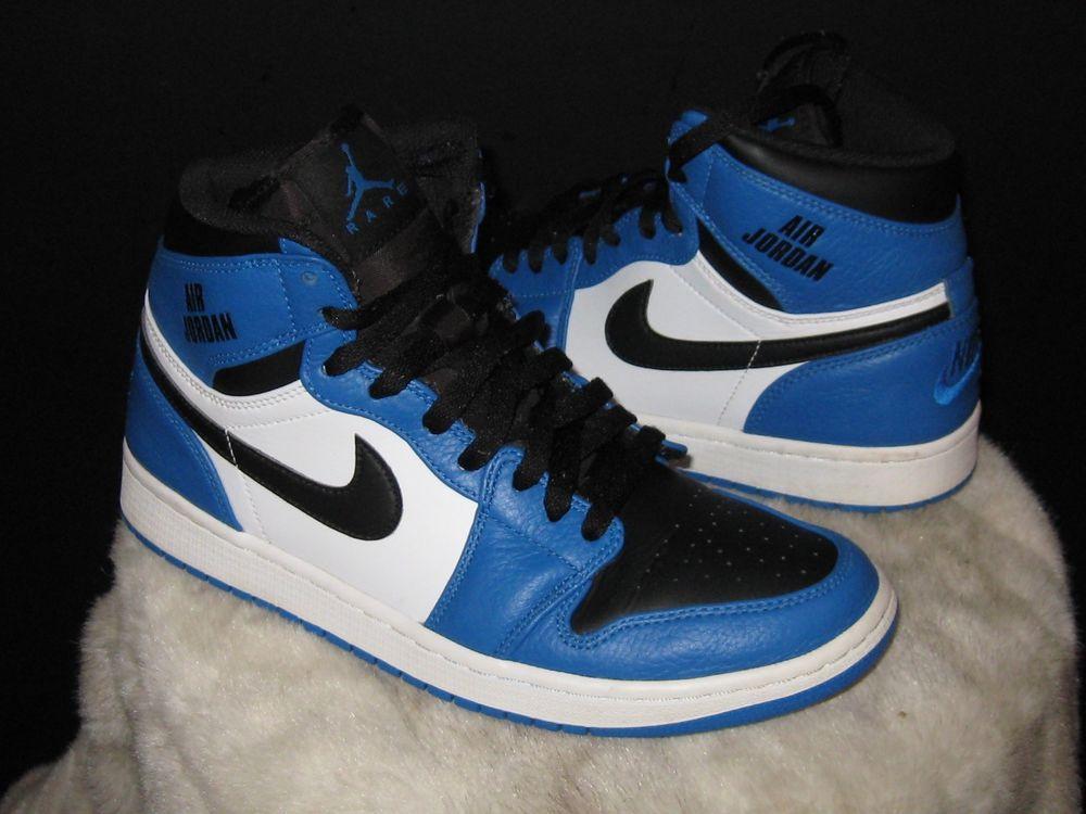 best website c76f9 4bc99 Men s Nike Air Jordan 1 Retro High Sneakers Sz 9 BlueSolar White 332550 400   Nike  airjordan  BasketballShoes  saturday