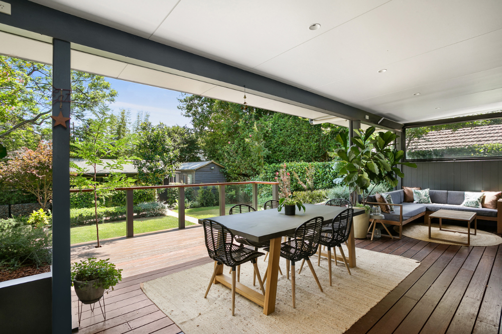 Lane Cove Beach Style Deck Sydney By Designbuild Project Services In 2020 Pool Patio Outdoor Furniture Sets Backyard