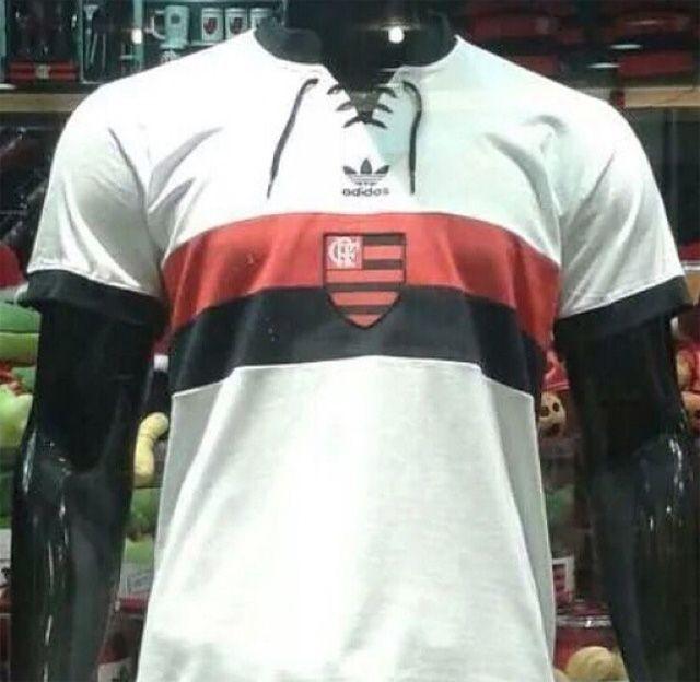 Camisa retrô do Flamengo 2014 Branca Adidas Originals  4fc9edecfa0f8