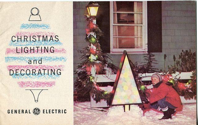 Ge Christmas Tree Lights.1963 Ge Christmas Lighting And Decorating Guide Retro