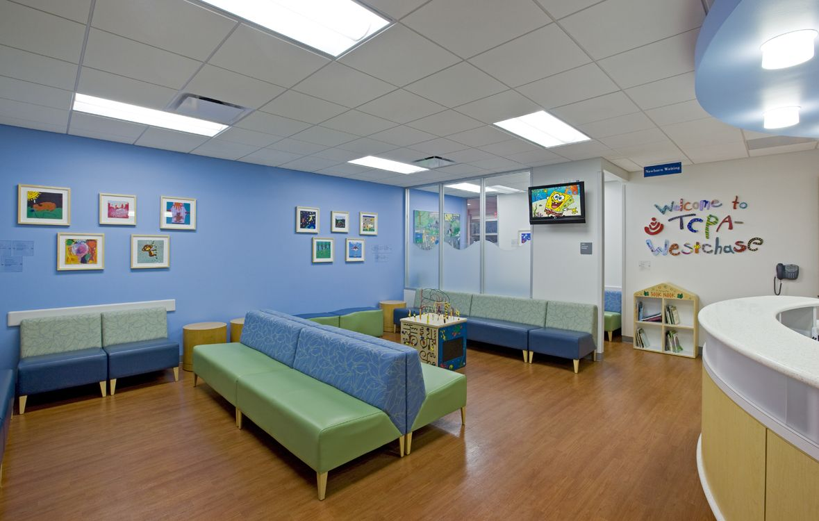 Pediatric office design texas children s pediatric for Office design room