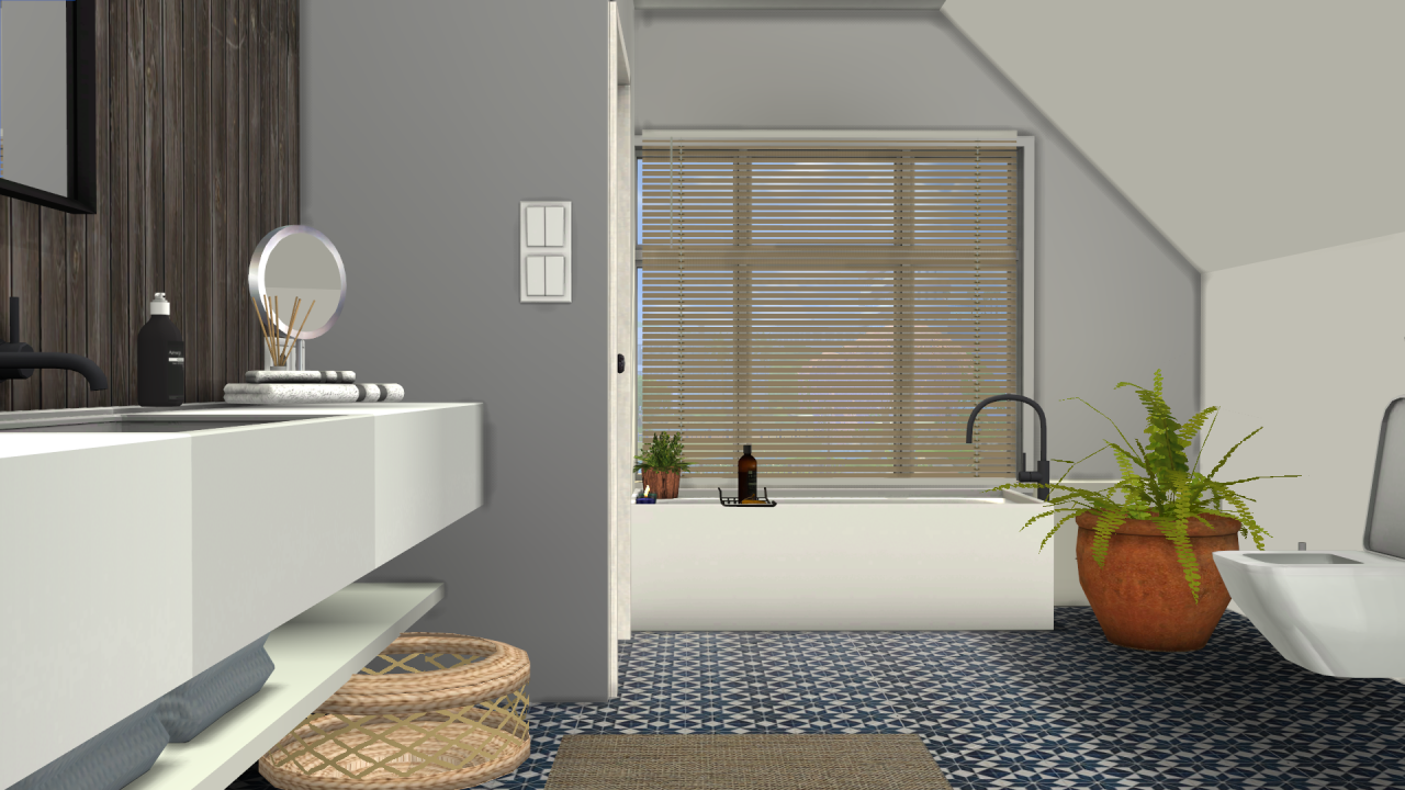 Sanoysims Brown Bathroom Decor Sims 4 Bathroom Decor