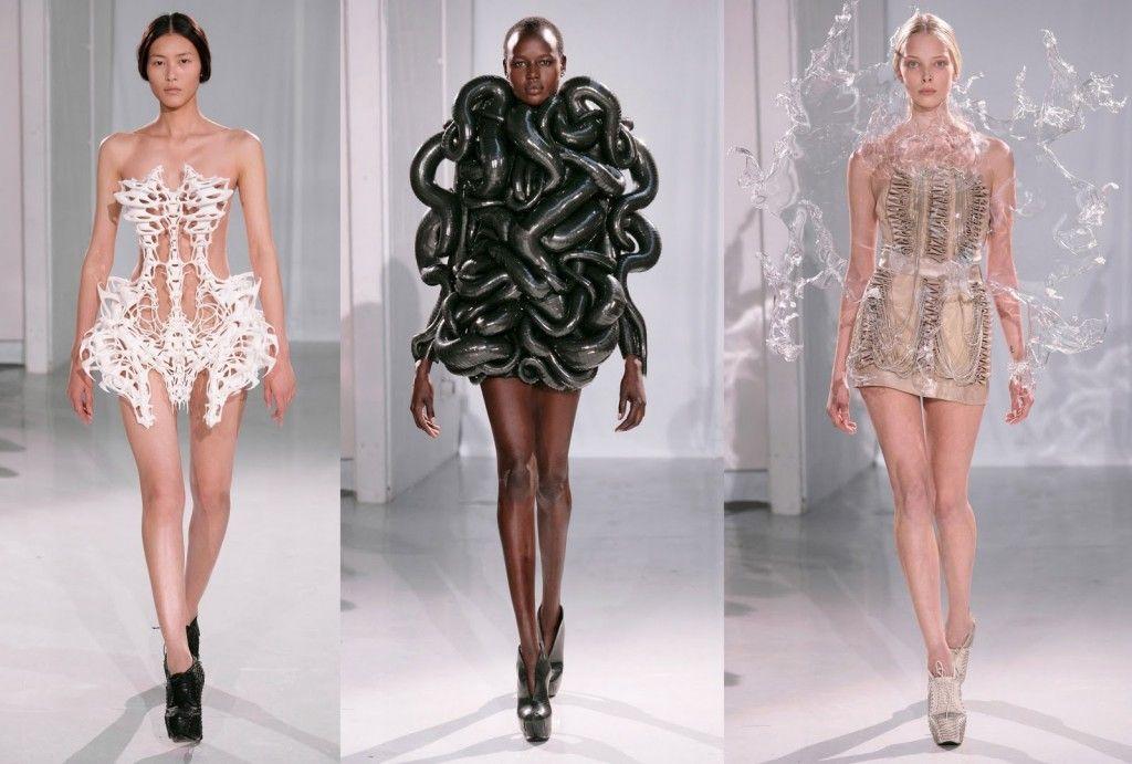 3d Printed Fashion X Iris Van Herpen Modearte 3d Printing Fashion Fashion 3d Printed Dress