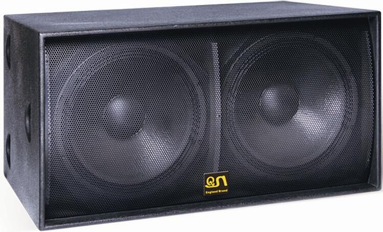 speakers in box. dual 18 inch pro subwoofer speaker box/sound equipment system/subwoofer picture from guangzhou yunqiang electronics co. view photo of speakers in box
