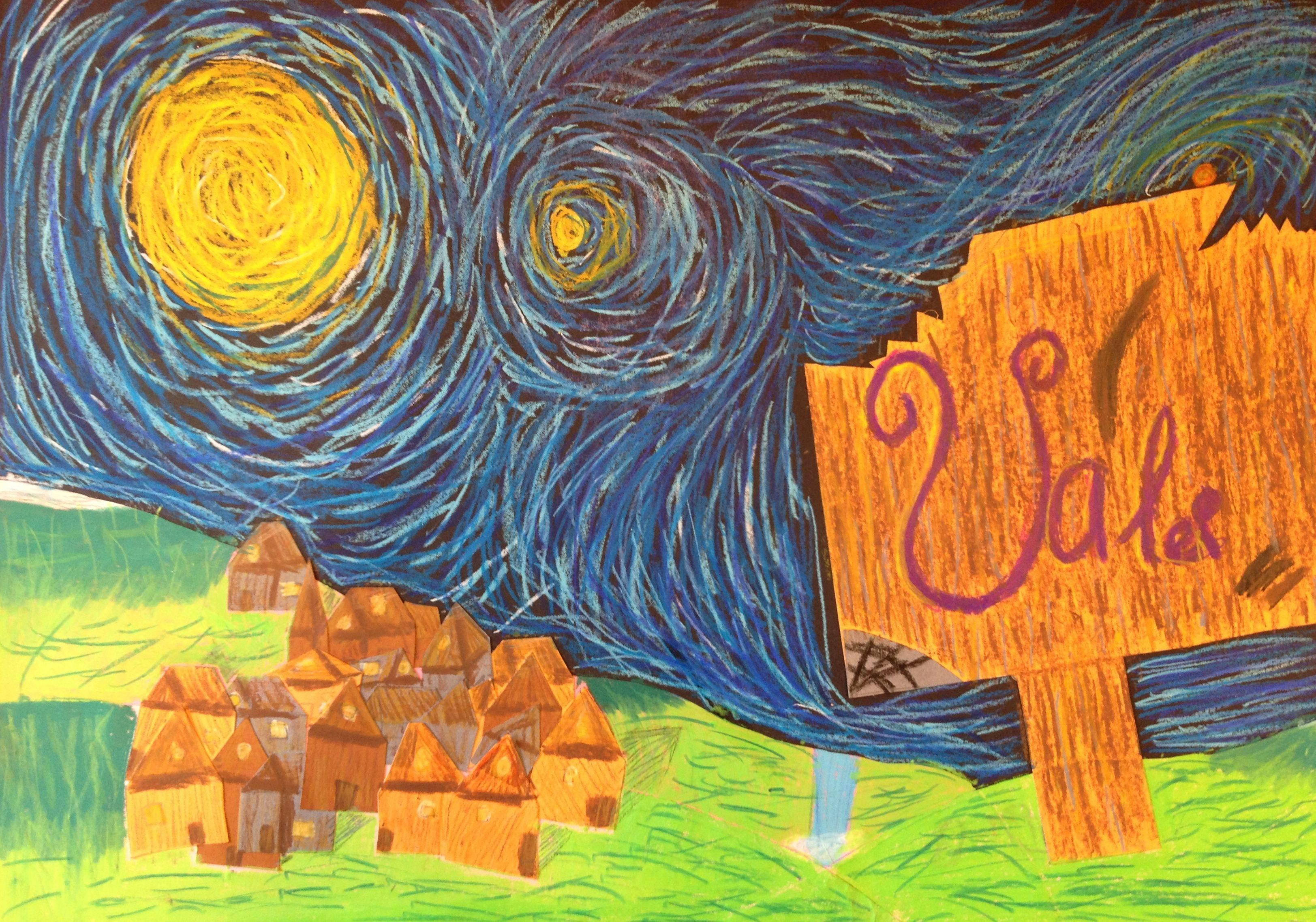 sterrennacht sterrennacht schilderij gogh