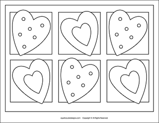 Free Valentine coloring pages - Valentine's Day coloring ...