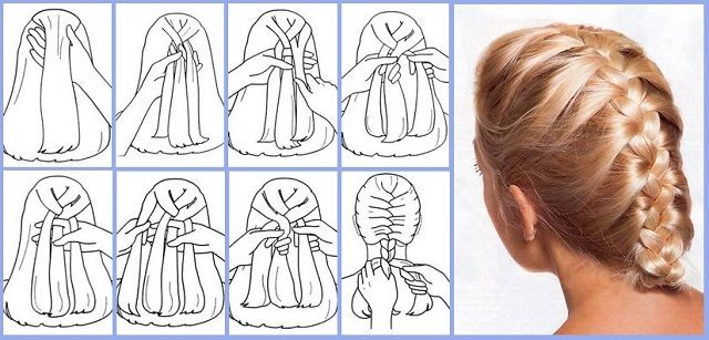 Awesome How To Quickly And Easily Make French Braid Your Own Hair French Schematic Wiring Diagrams Phreekkolirunnerswayorg