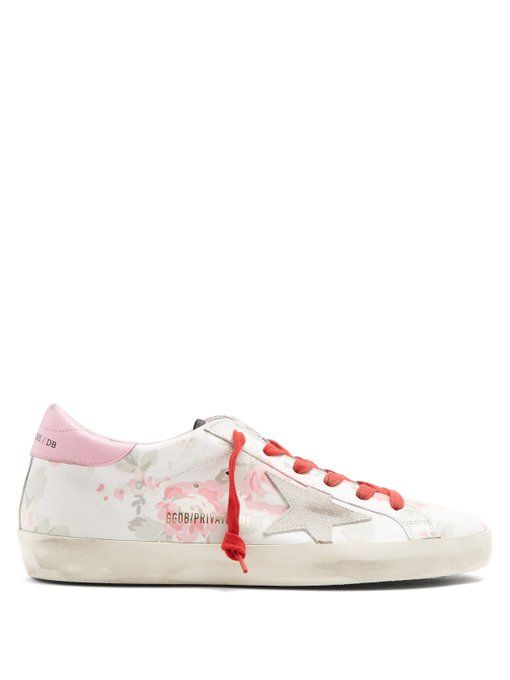 Cheap Sale Amazing Price Cheap Sale In China Floral Superstar sneaker Golden Goose Clearance With Mastercard yBDQUzA