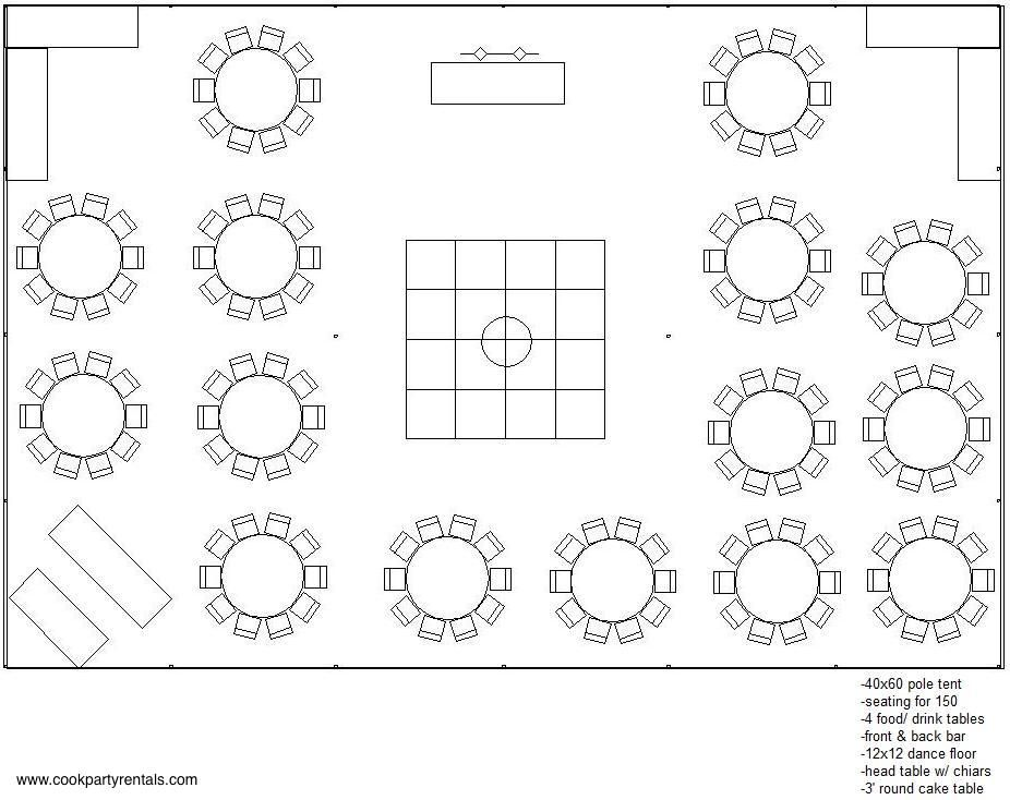 40 x 60 Tent Layout u0026 Seating  sc 1 st  Pinterest & 40 x 60 Tent Layout u0026 Seating | Tent sizes | Pinterest | Tents ...